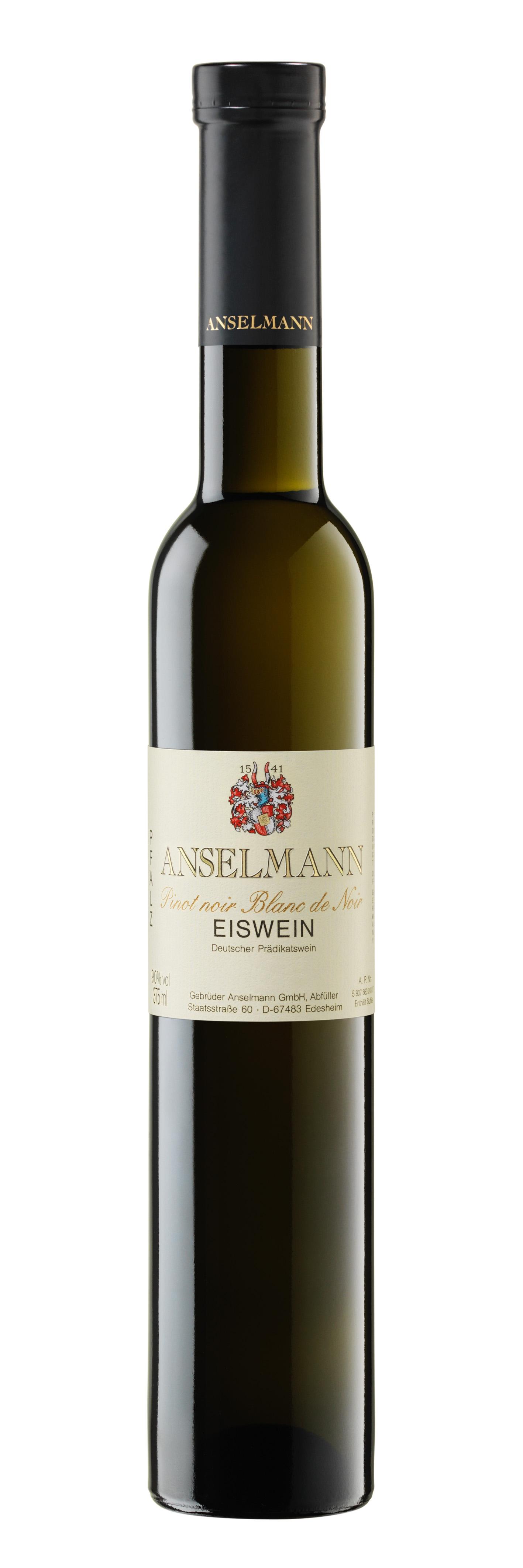 Pinot noir Blanc de noir Eiswein